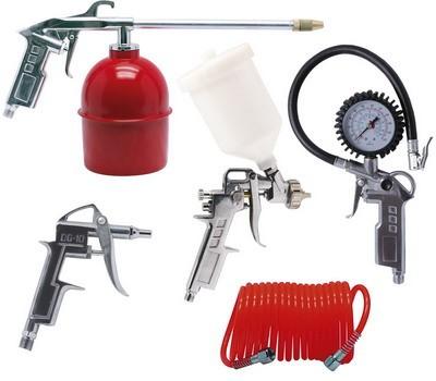 Stříkací, ofukovací pistole