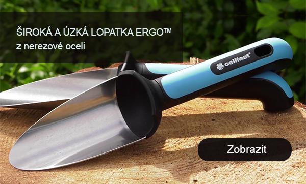 Široká a uzká lopatka ergo™