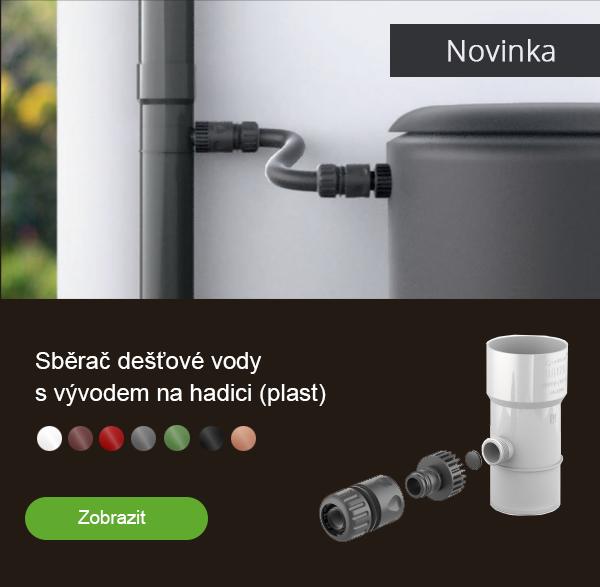 Plastový sběrač vody (novinka)