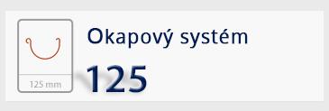 Okapový systém 125