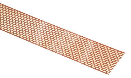 Větrací pás okapní 8-10 cm - BRAMAC