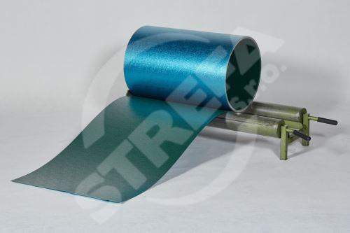 PREFA hliníkový plech Prefalz 0,70 x 650 mm, stucco, Mechově zelená (RAL6005)
