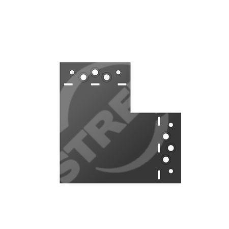 SDLPD 1 Spojka C 146x146x85x2,5 Práškově lakovaná