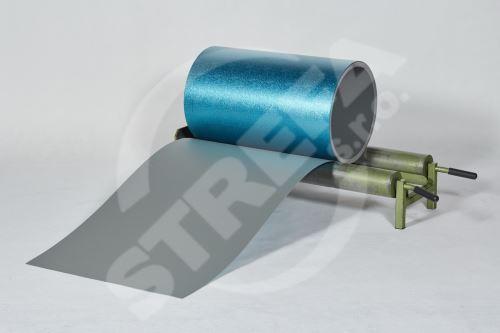 PREFA hliníkový plech Prefalz 0,70 x 1000 mm Světle šedá P.10 stucco (RAL7005)