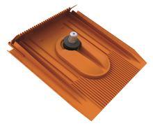 Venduct Solar-držák panelu-komplet-hnědý
