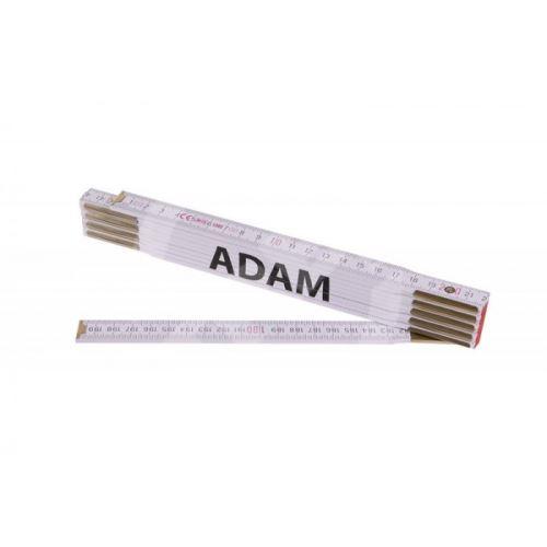 Skládací 2m ADAM (PROFI,bílý,dřevo)