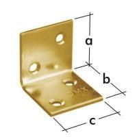 Úhelník široký KS 3, 60x60x60 zinkovaný plech