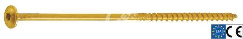 GPR Vrut pro dřevostavby TH T50 10x400/100 ZZ