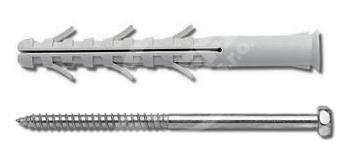 Rámová hmoždinka RMS 10x120 se 6HR vrutem