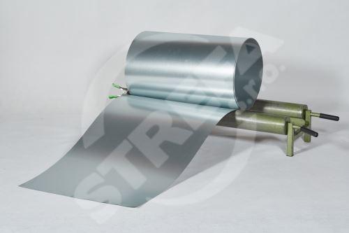 Pozinkovaný plech ve svitku 0,5 x 625 mm