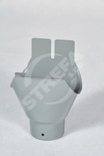 PREFA kulatý kotlík, 333 x ø 120 mm (pro žlab Ø 150 mm)