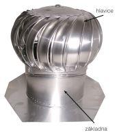 Turbína vent. IB 8 bezbarvá