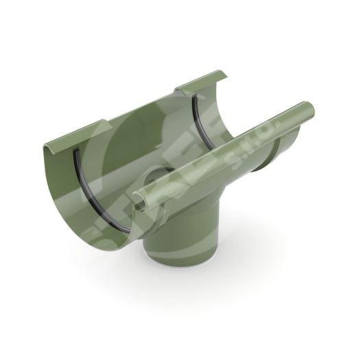 Kotlík plastový Ø 75/63 mm, Zelená RAL 6020