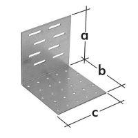 Úhelník montážní stavitelný KMR 8, 80x80x80 zinkovaný plech