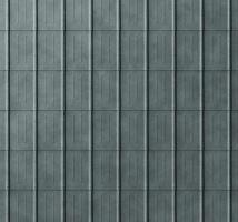 Falcovaná taška, povrch stucco, Břidlicová P.10
