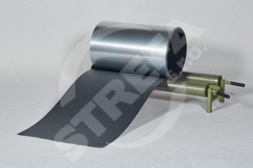 PREFA hliníkový plech Prefalz 0,70 x 650mm Antracit P.10, hladký ( RAL7016)