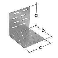 Úhelník montážní stavitelný KMR 1, 60x60x60 L zinkovaný plech