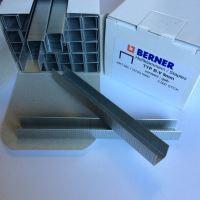 Spony typu B-V 9mm Berner, balení / 5000 ks, Přírodní