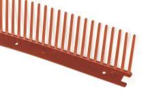 Mřížka 110mm červená