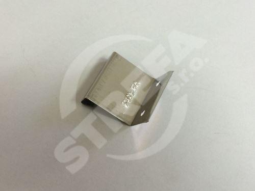 PREFA pevná příponka úhlová, 0,4 mm, nerez ocel