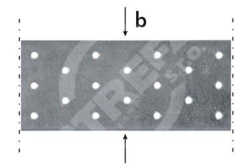 Páska montážní TM 3/25, 60x2,0x25bm zinkovaný plech
