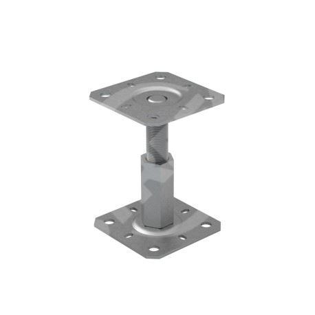 Patka sloupku PR 100/100, 100x100x3, zinek galvanický