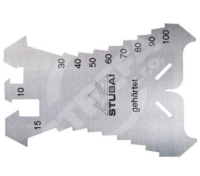 Léra klempířské měřítko Stubai 140 x 100 mm