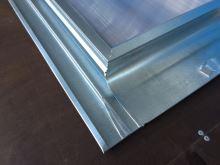 Střešní vikýř pozinkovaný s makrolonem, 600 x 600 mm
