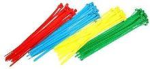Vázací pásky 100 x 2,5mm, 100ks barevné
