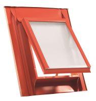 Vikýř standard 600x600 Al červený