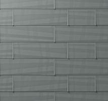 Střešní panel FX.12, 700 x 420 mm malý hladký, Světle šedá P.10