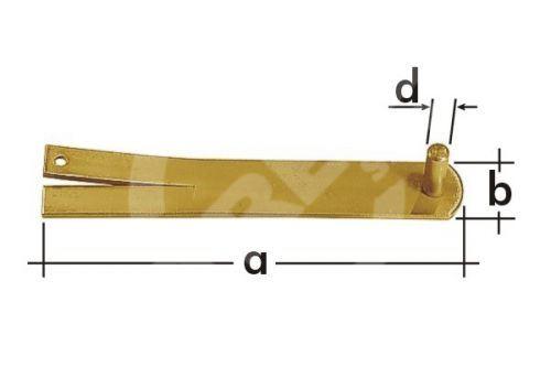Držák čepu do zdiva CM 16 DMX d16mm