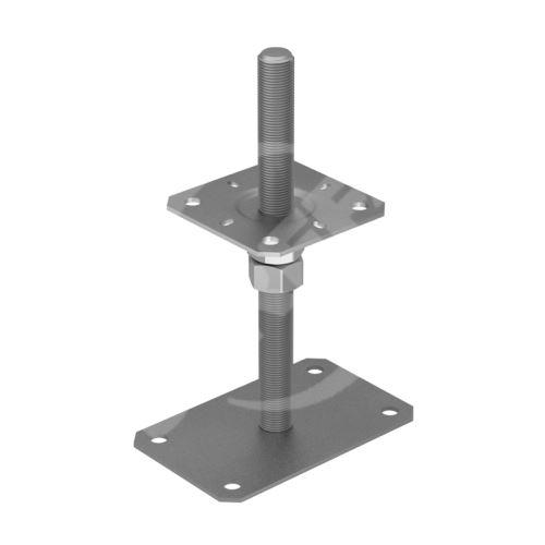 Patka sloupku stavitelná PSRP 130, rozměr 130x250, zinek galvanický
