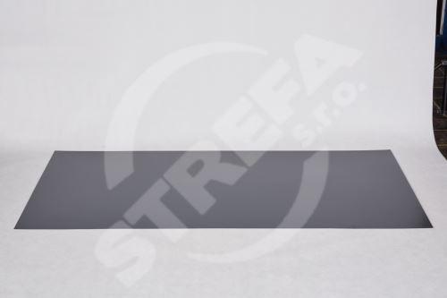 Tabule český hliník 0,6x1000x2000  lak. s fólií Antracit RAL7016