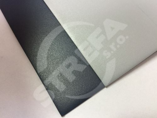 Pvc foliové plechy Viplanyl - Světle šedý