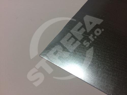 Plech pozinkovaný, tabule  0,55/1000/2000mm