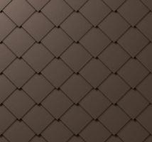 Střešní šablona, 44 x 44 mm stucco, Tmavě hnědá P.10