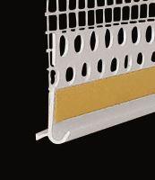 Okapnice s tkaninou UNI II pro soklový profil
