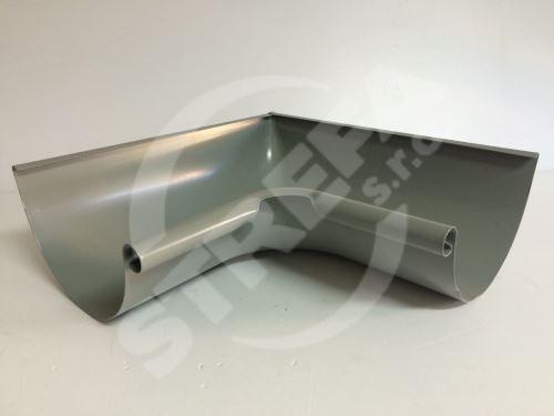 PREFA roh žlabu 90° vnitřní, Ø 125 mm (r.š. 280 mm)