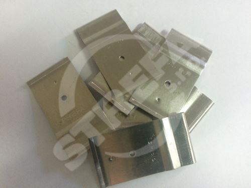 PREFA patentované příponky pro tašky, šindele a DS.19, Přírodní hliník