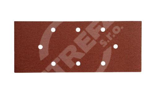 Brusný papír 93x230mm,P120,8otvorů B/D 5ks