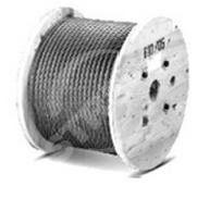Ocelové lano DIN 3053 (1x19) 1,0x2000m