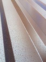 FeZn trapéz lakovaný  hnědá RAL 8017 TR18 0,5/954mm, délka 3M