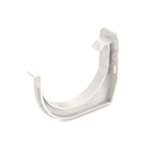 PVC hák žlabu římsový/čelní Ø 125 mm, Bílá RAL 9010