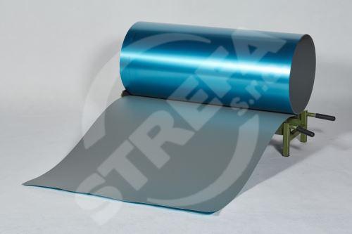 PREFA hliníkový plech Prefalz 0,70 x 1000 mm Světle šedáP.10 hladká (RAL7005)