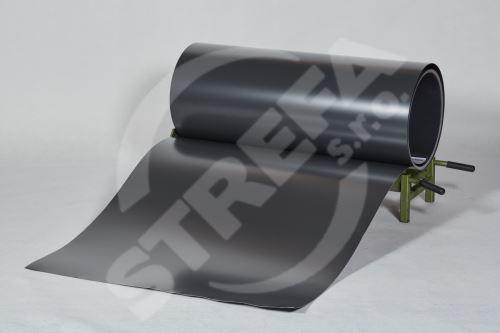 PREFA clr plech ve svitku 0,7 x 1000mm - Antracit /Antracit + folie