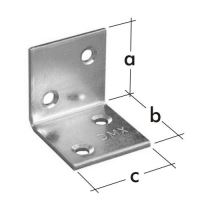 Úhelník široký KSO 1, 30x30x30 zinkovaný plech