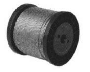 Ocelové lano DIN 3055 v PVC 2/3x50m