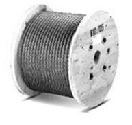 Ocelové lano DIN 3053 (1x19) 2,0m x 200m