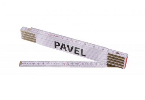 Skládací 2m PAVEL (PROFI,bílý,dřevo)